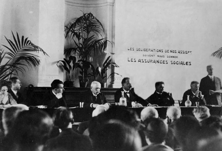 A criação da ISSA em 1927.