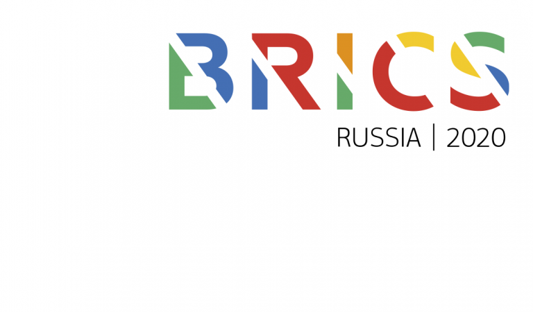 BRICS Russian 2020 logo