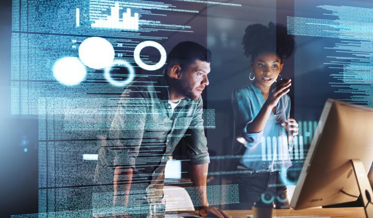 Transição da força de trabalho para um ambiente humano e digital