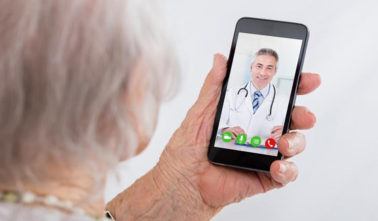 Meeting the COVID-19 challenge for the elderly and disabled − Growing caregiver needs and telemedicine