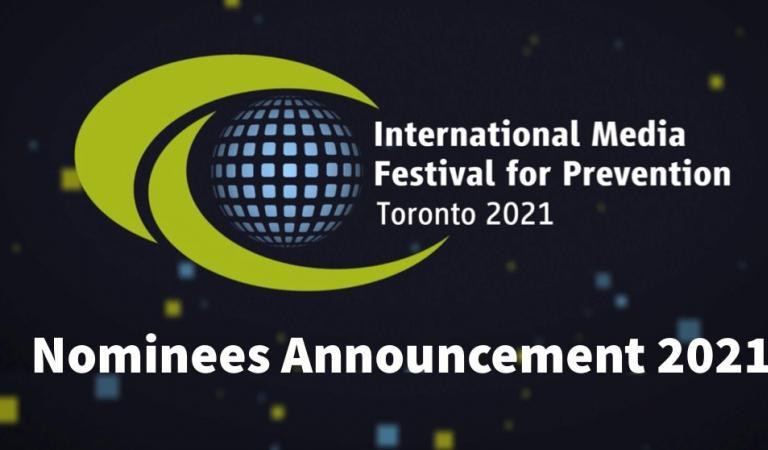 Banner do anúncio dos nomeados de 2021